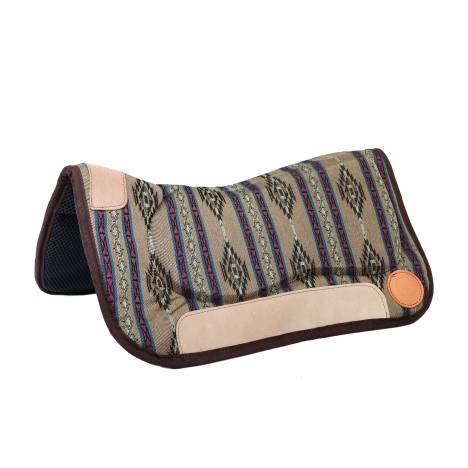 Colorado Saddlery Bookcliff Mountain Contour Waffle Neoprene Bottom Saddle Pad