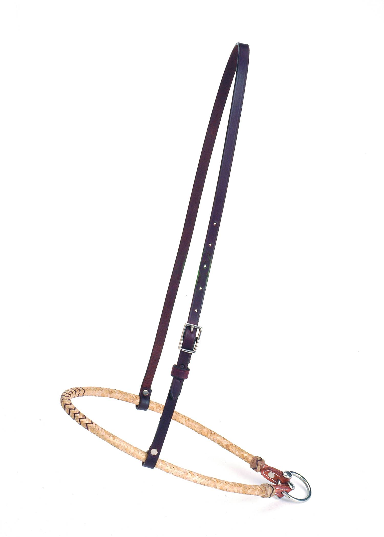 Colorado Saddlery Braided Rawhide Noseband