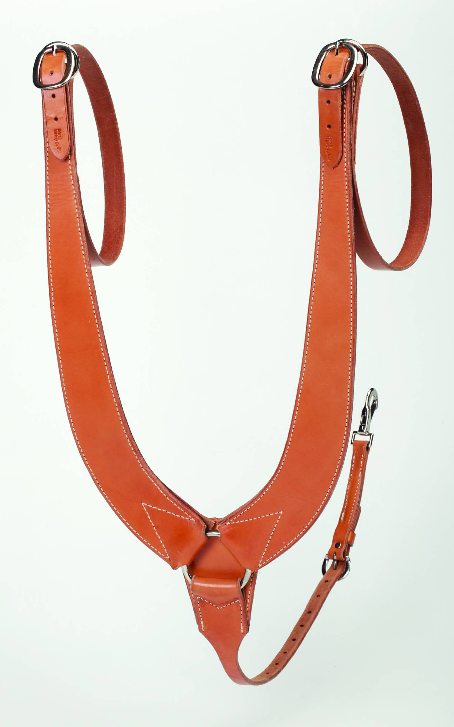Colorado Saddlery Buckaroo Mule Pulling Breast Collar