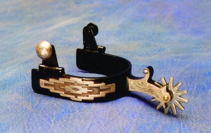 Colorado Saddlery Buckaroo Spurs - Mens