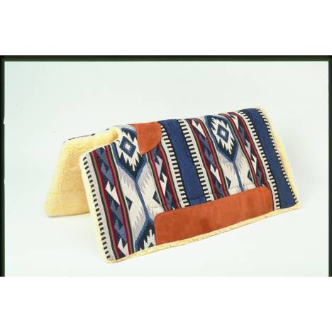 Colorado Saddlery Sage Cutback Western Saddle Pad