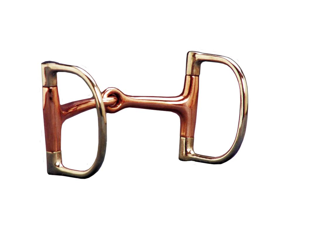 Colorado Saddlery Copper Mouth Dee Snaffle Bit