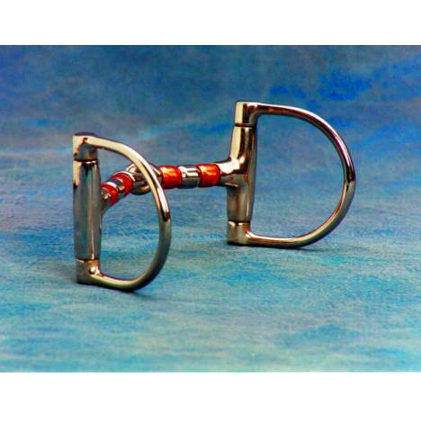 Colorado Saddlery Copper Roller Mouth Dee Snaffle Bit