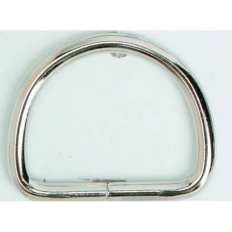 Colorado Saddlery Heavy Nickel Plated Dee