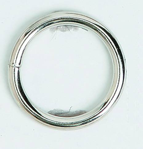 Colorado Saddlery Heavy Nickel Plated Ring