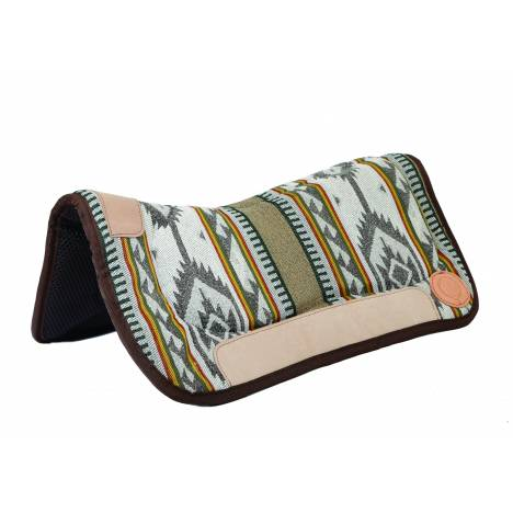 Colorado Saddlery High Desert Contoured Waffled Neoprene Bottom Saddle Pad