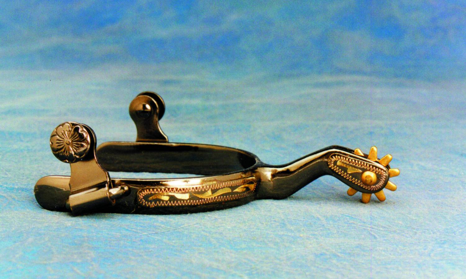 Colorado Saddlery Brass Roper Spurs - Ladies