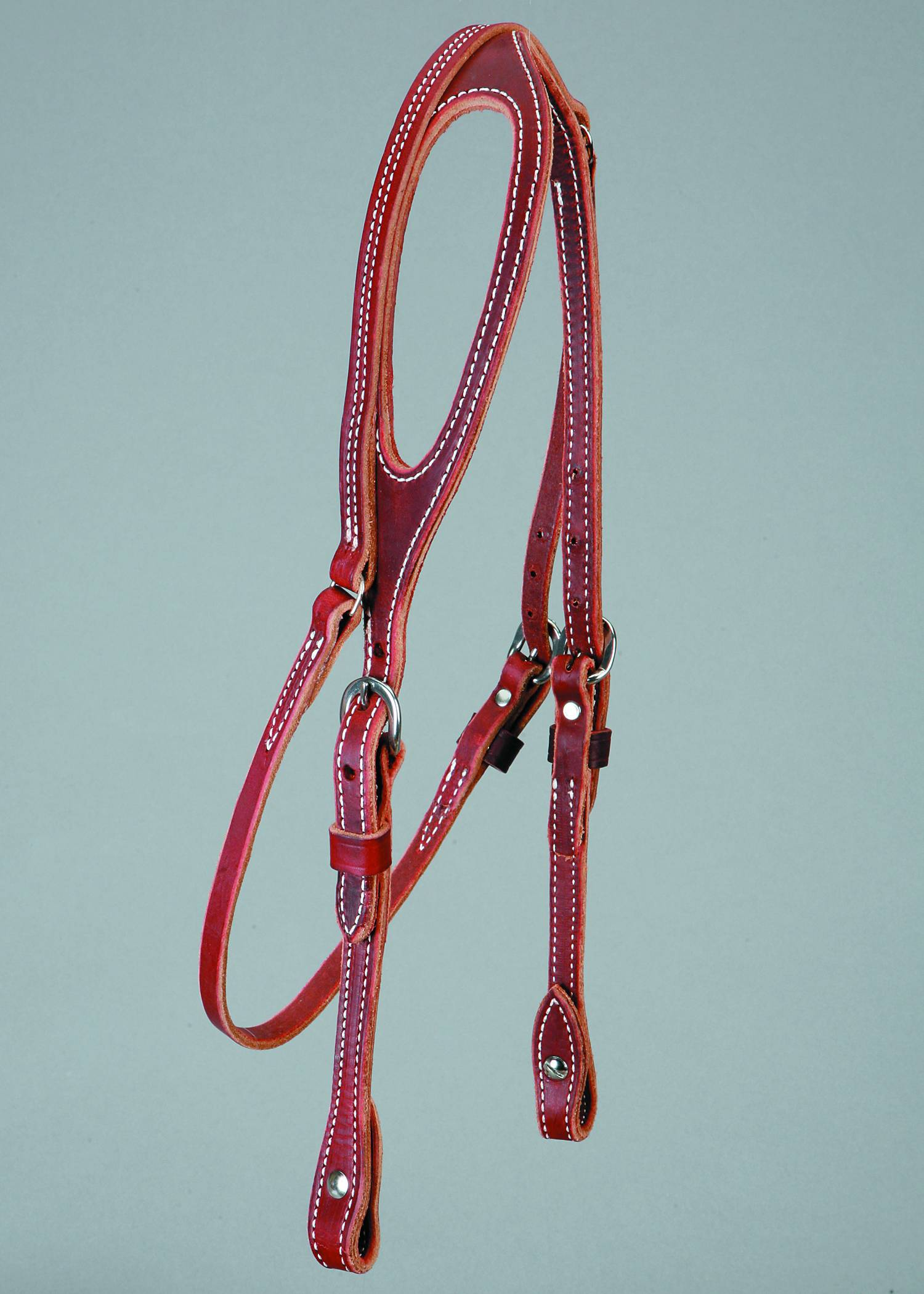 Colorado Saddlery Latigo One Ear Headstall - Chicago Screws