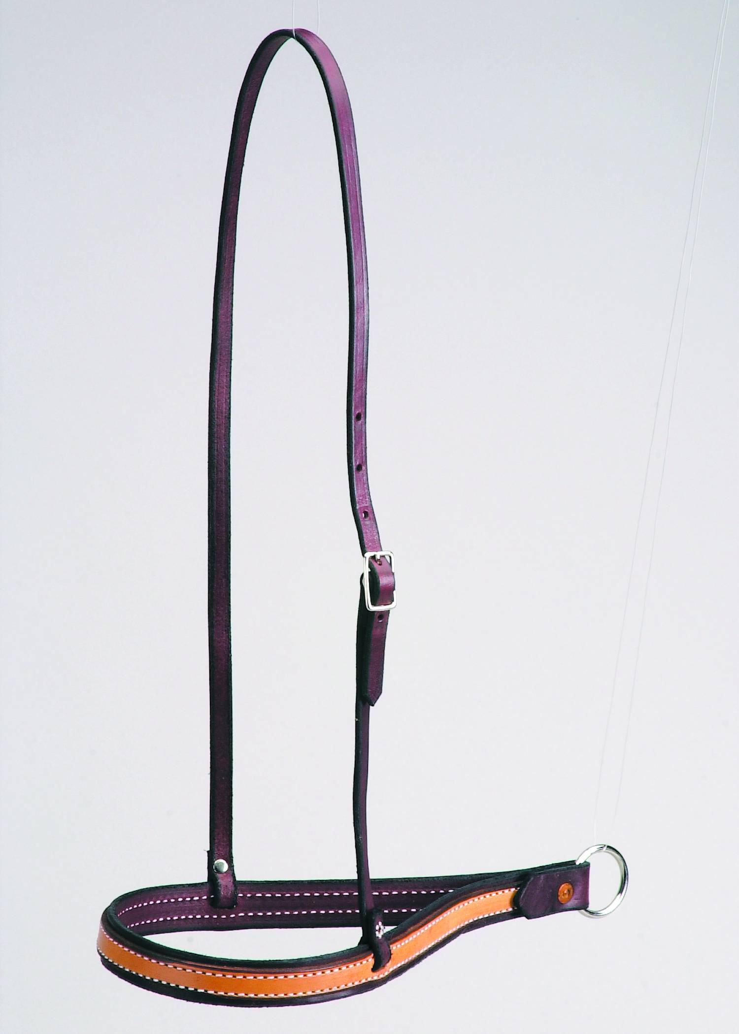 Colorado Saddlery Leather Ropers Drop Nose Noseband