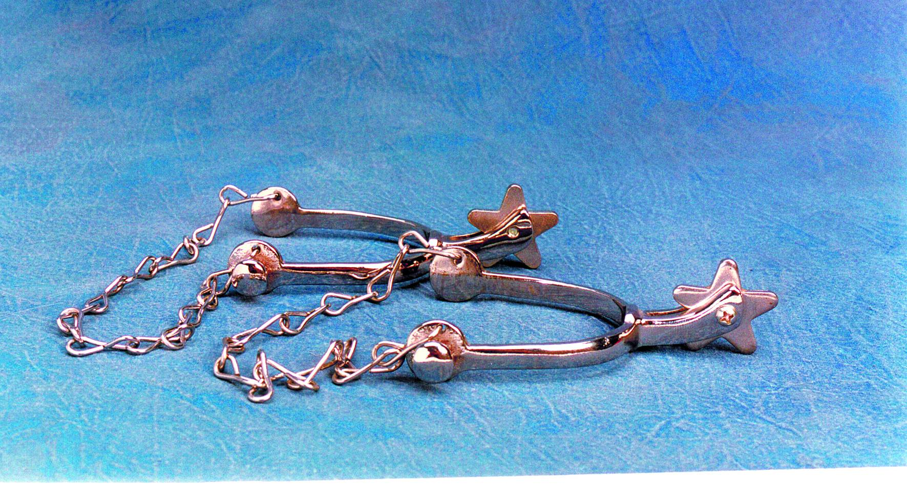 Colorado Saddlery Little Wrangler Spurs