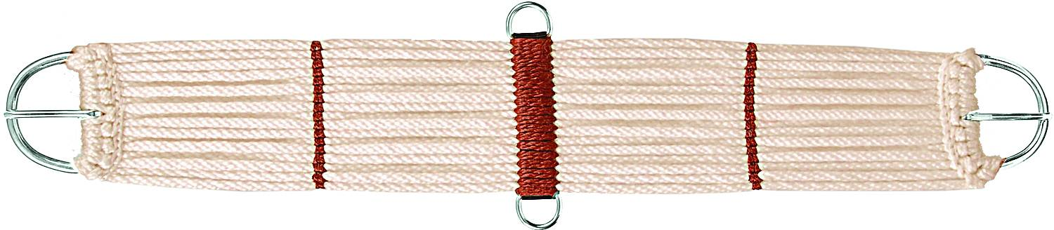 Colorado Saddlery Mohair Blend 17 Strand Nickel Plated Cinch