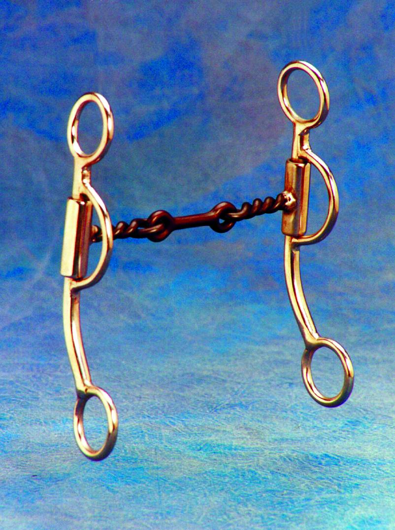Colorado Saddlery New Mexico Special Partial Twist Shank Snaffle