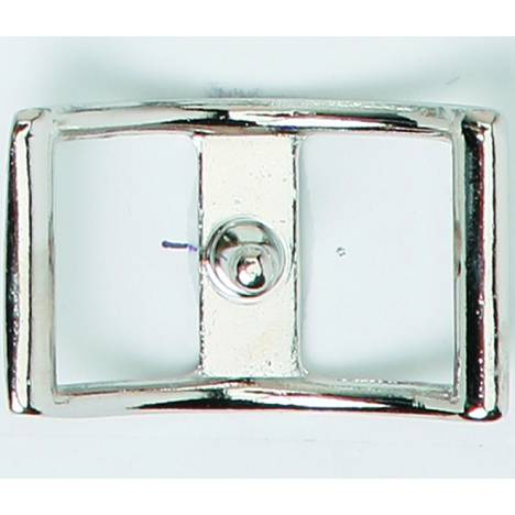 Colorado Saddlery Nickel Plated Conway Buckle
