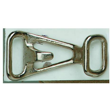 Colorado Saddlery Nickel Plated Halter Hook