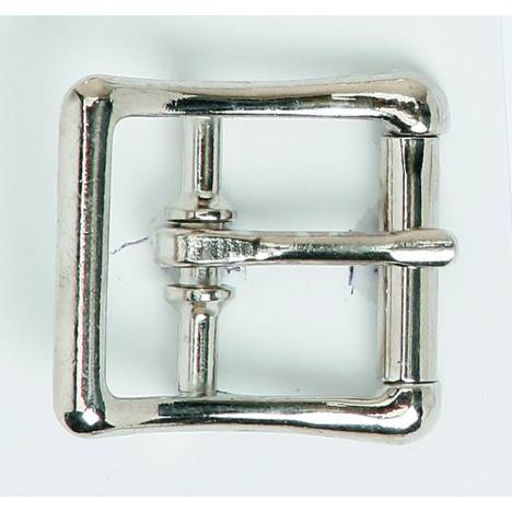 Colorado Saddlery Nickel Plated Roller Buckle