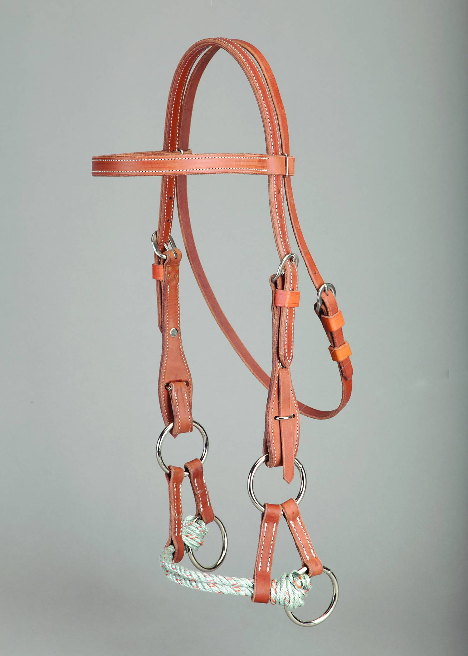 Colorado Saddlery Quick Change Side Pull Noseband Headstall