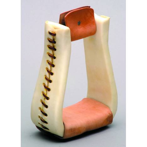 Colorado Saddlery Rawhide Roper Stirrups