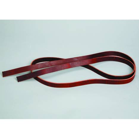 Colorado Saddlery Red Latigo Leather Strips