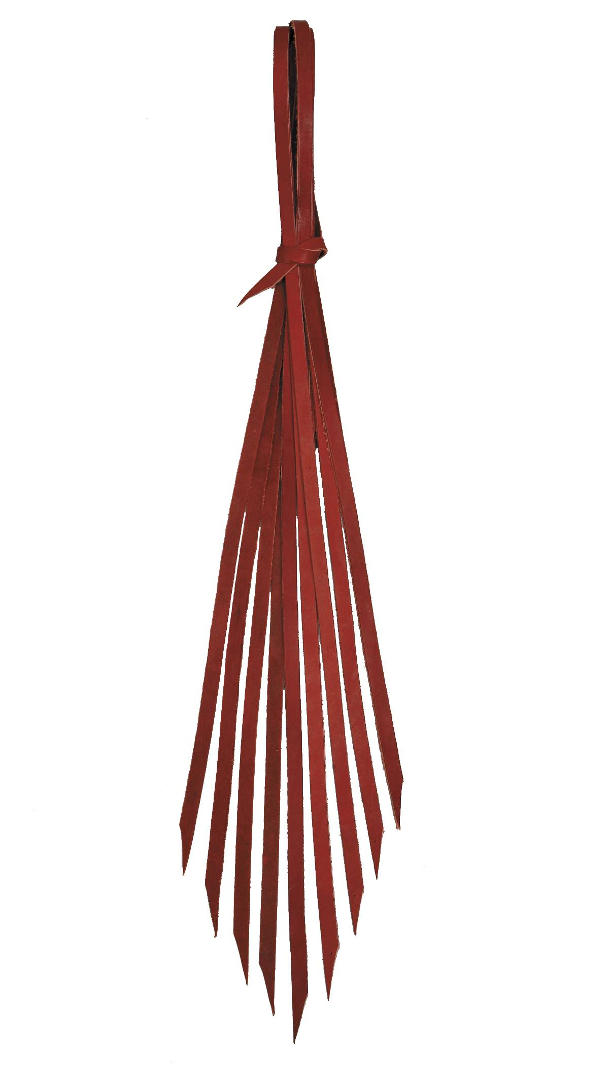 Colorado Saddlery Red Latigo 10 Pack Saddle Strings