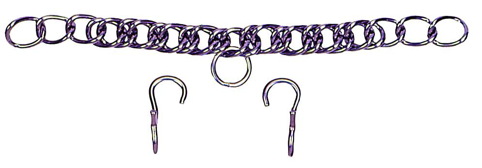 Colorado Saddlery Stainless Steel Curb Chain