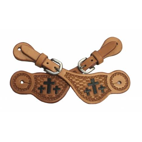 Colorado Saddlery Trinity Cross Spur Straps - Kids
