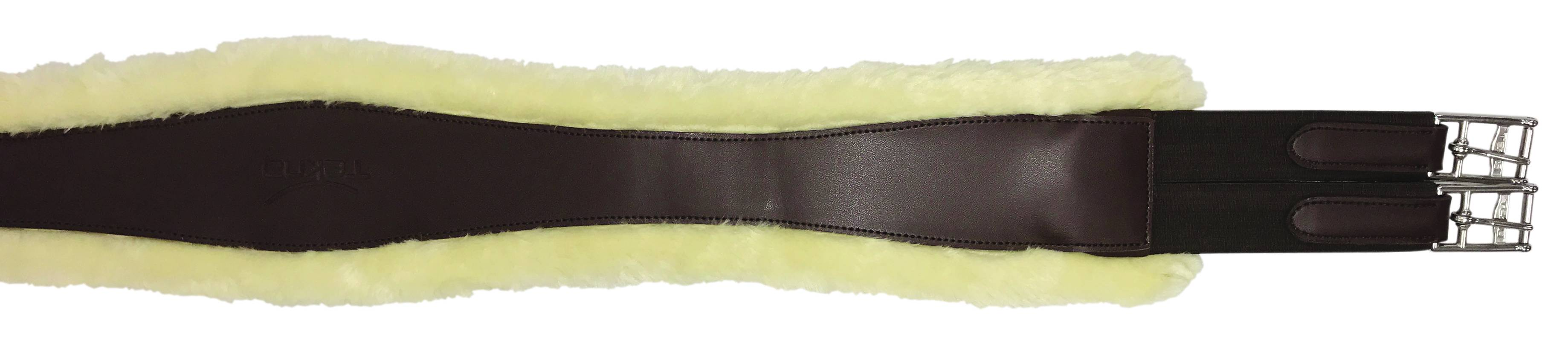 Tekna AP Shaped Synthetic Sheepskin Girth