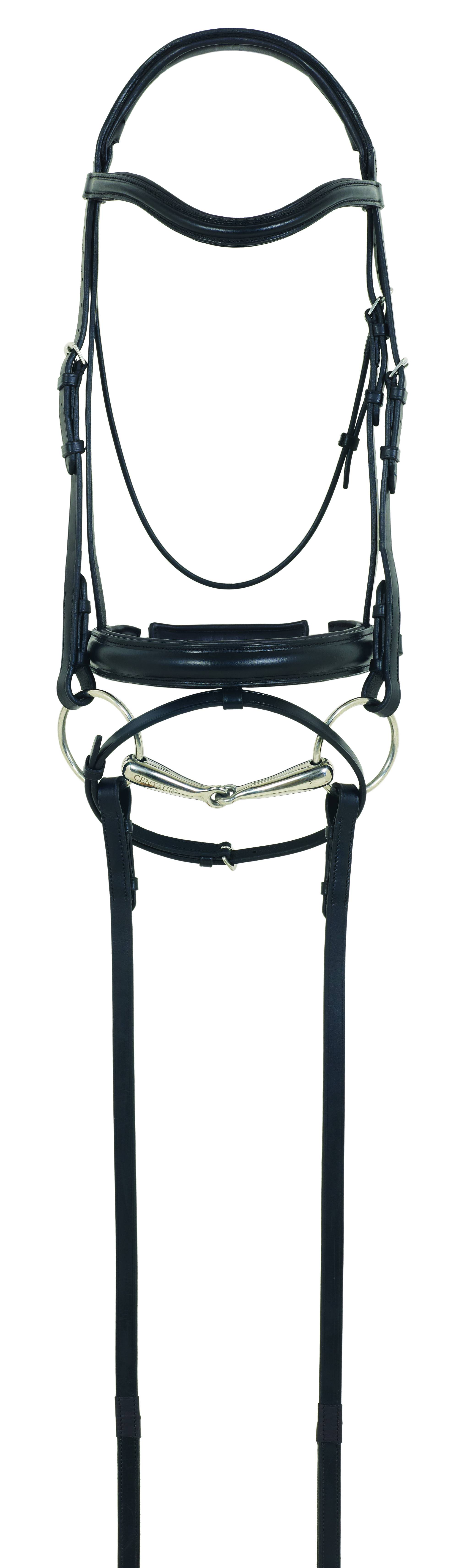 Camelot RCS Crank Flash Dressage Bridle