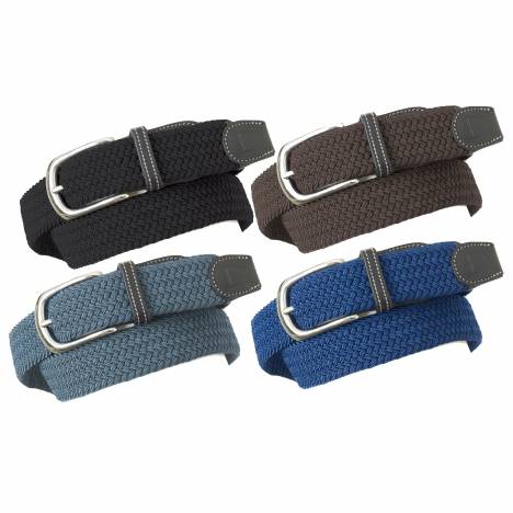 Ovation Deluxe Braided Stretch Belt - Ladies