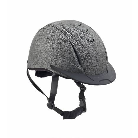 Ovation Deluxe Matte Crackle Schooler Helmet - Ladies