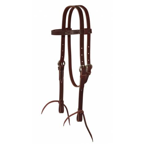 Reinsman Single Ply Pony Browband Headstall With Tie Ends