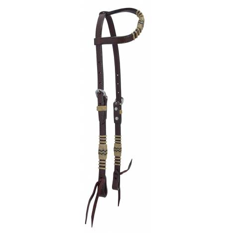 Reinsman Rawhide Braiding One Ear Headstall