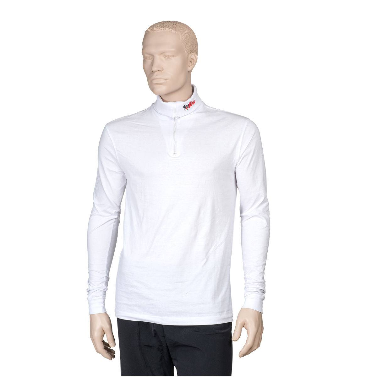 Finn Tack Mira Zipper Long Sleeve Polo - Mens