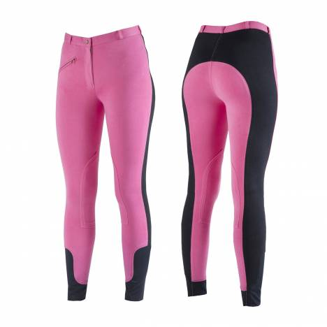 Horze Soft Knee Patch Breeches - Ladies
