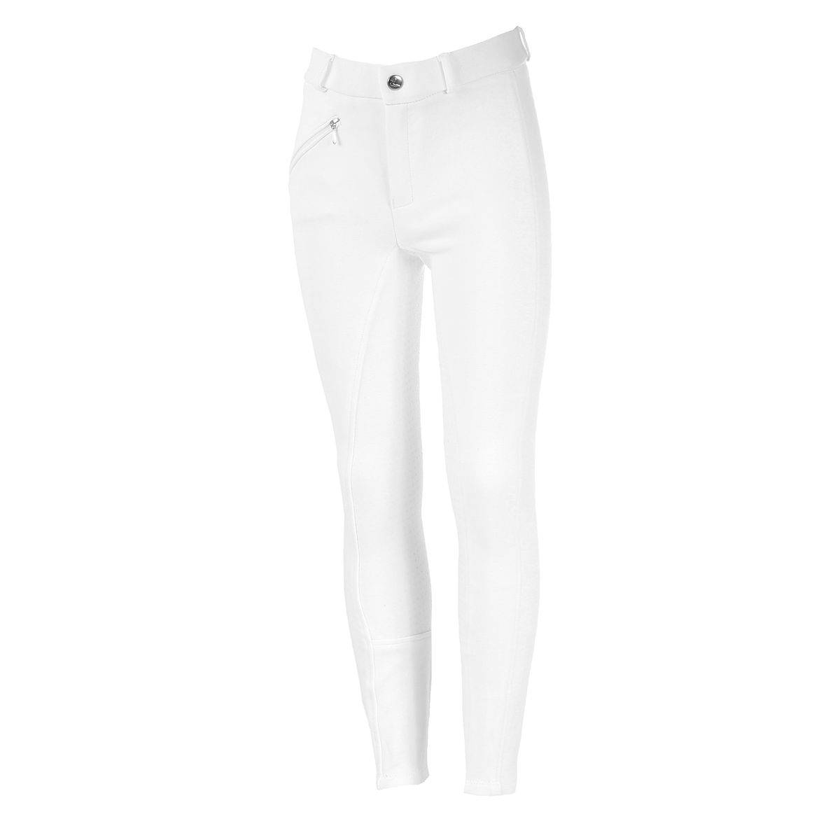 Horze Active Silicone Grip Breeches- Girls, Full Seat