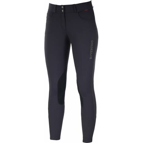 B Vertigo Kimberley Faux Leather Knee Patch Breeches - Ladies