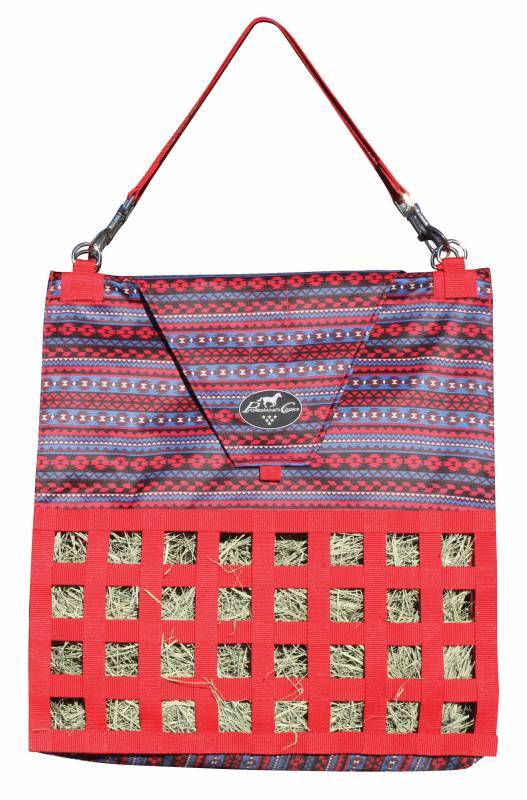 Professionals Choice Slow Feed Hay Bag - Tribal
