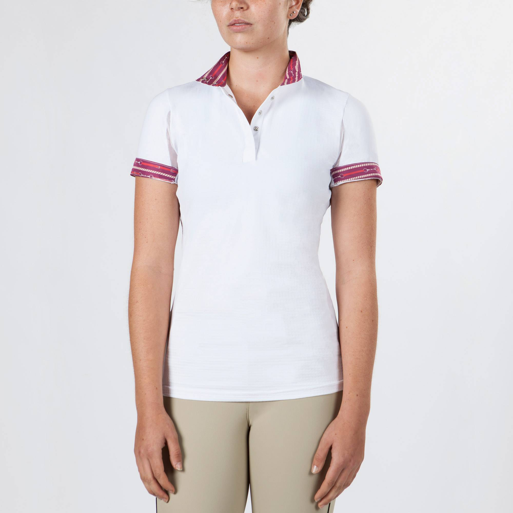 Irideon Cool Down IceFil Short Sleeve Show Shirt - Ladies