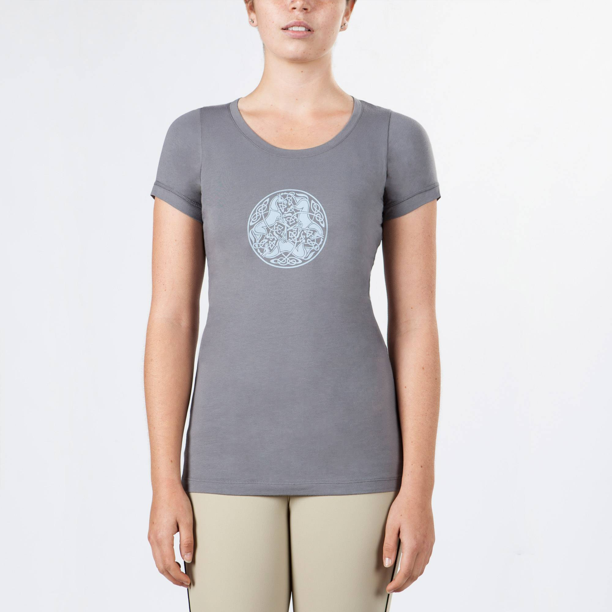 Irideon Celtic Horse Circle Tee - Ladies