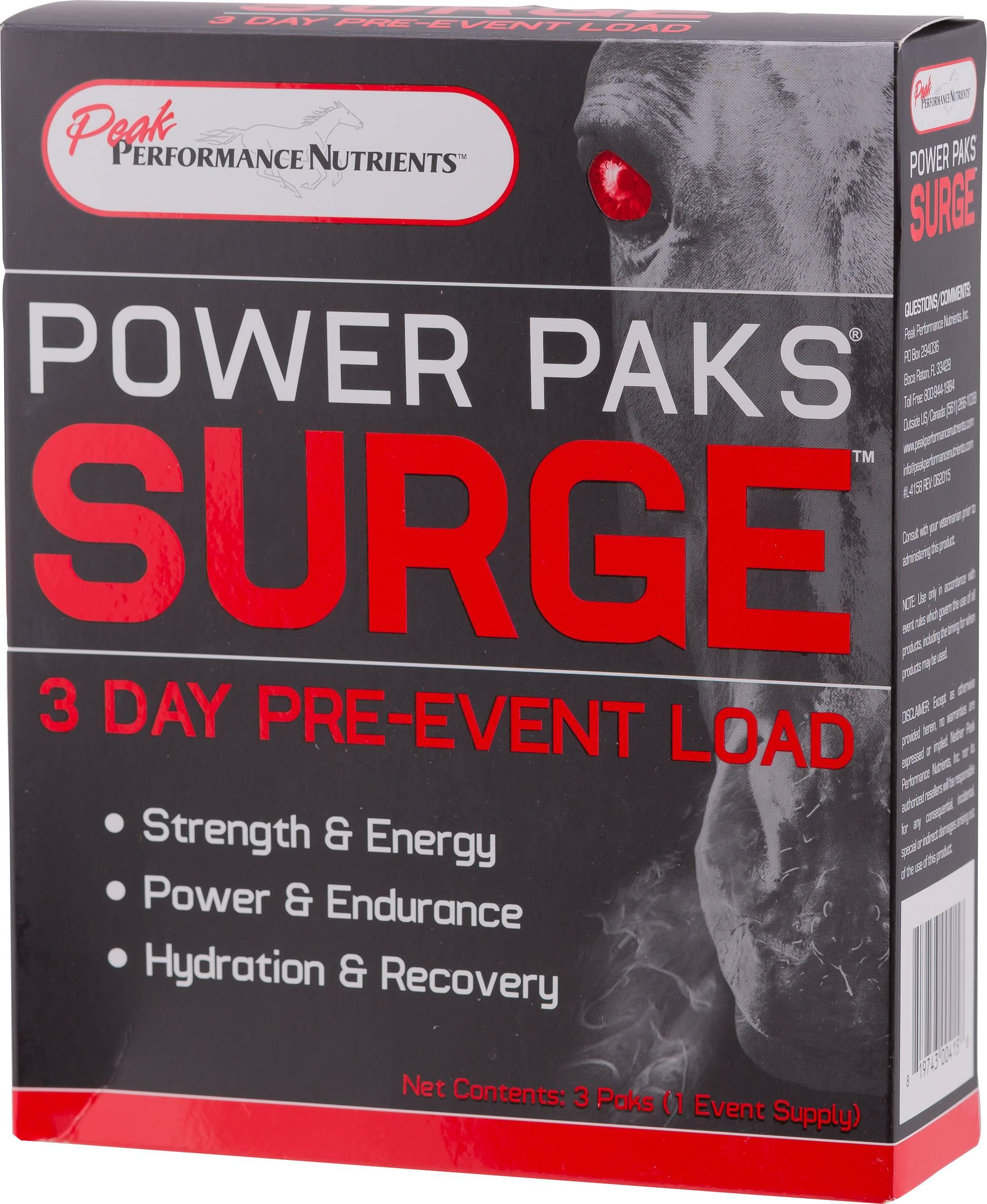 Peak Performance Power Paks Surge