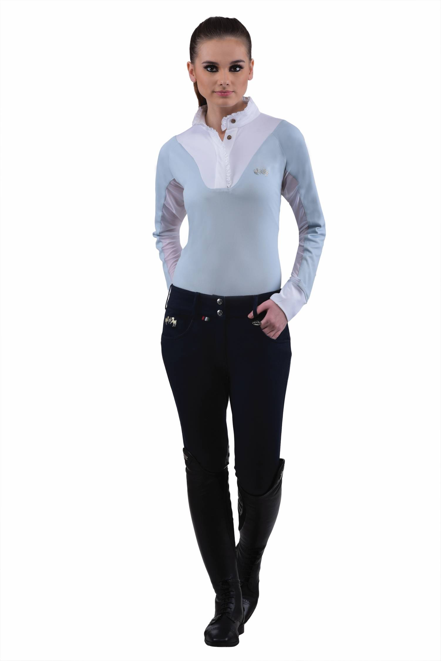 Equine Couture Sophie Breeches- Ladies, Knee Patch