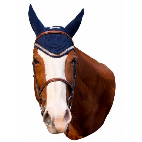 Equine Couture Fly Bonnet- Lurex Rope
