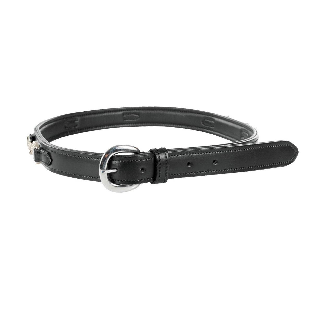 Horze Crystal Bit Leather Belt - Ladies
