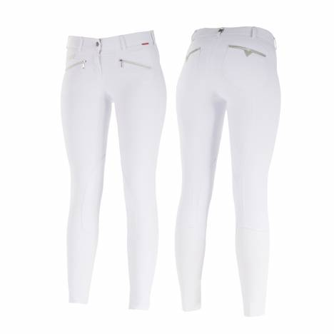B Vertigo Claire Medium Waist Knee Patch Breeches - Ladies