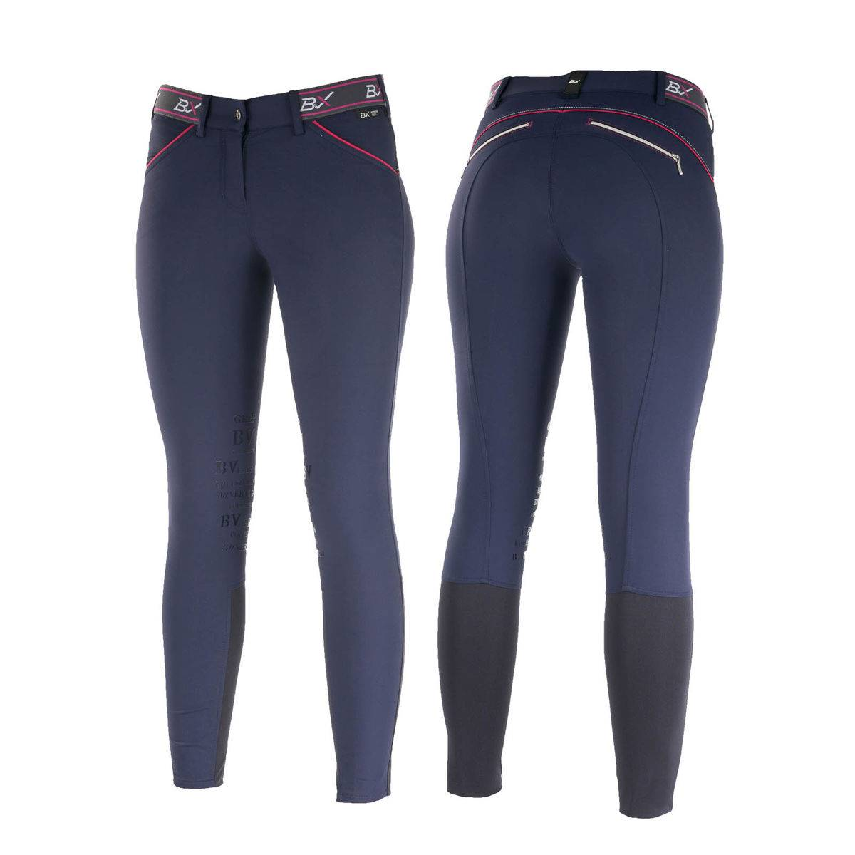 B Vertigo Xandra BVX Self Knee Patch Breeches - Ladies