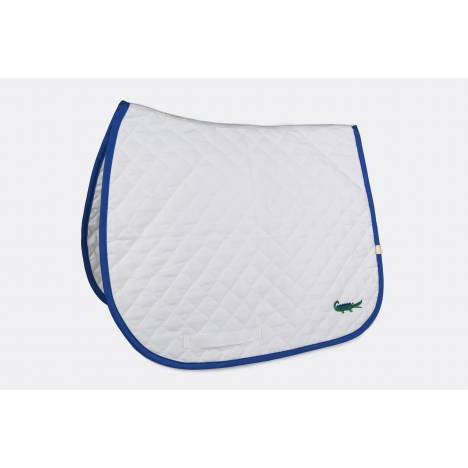 Lettia Embroidered Baby Pad - Green Alligator