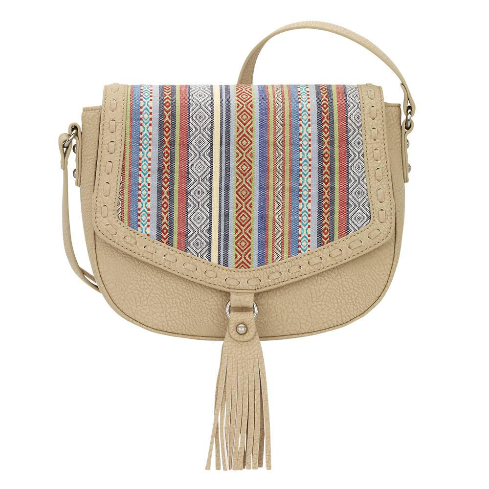 Bandana Boho Rainbow Flap Crossbody