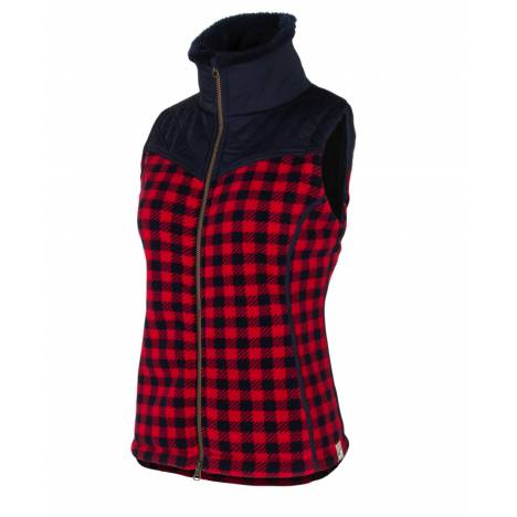 Noble Outfitters Heritage Check Vest - Ladies
