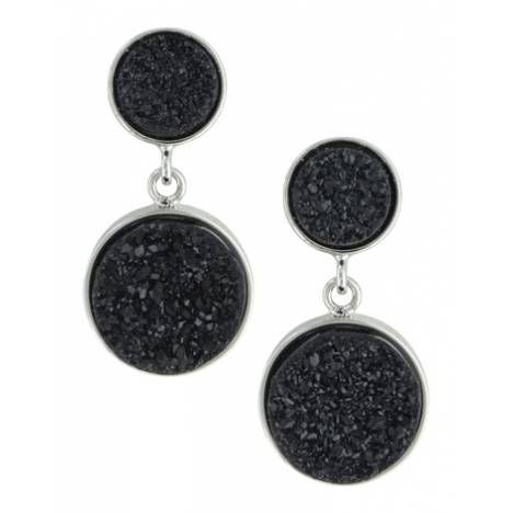 Montana Silversmiths Attitude Jewelry Druzy Glimmer Earrings