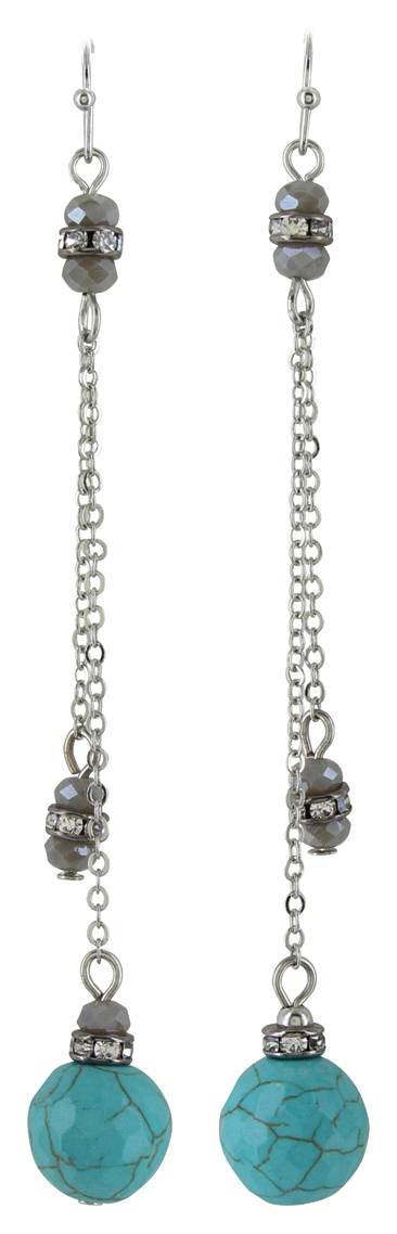Montana Silversmiths Attitude Jewelry World On A String Earrings