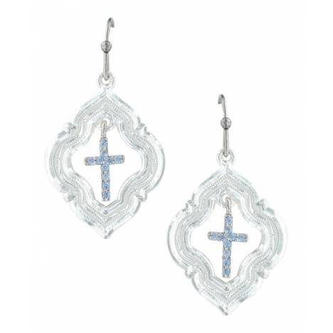 Montana Silversmiths Looking Through To Faith Cross Earrings